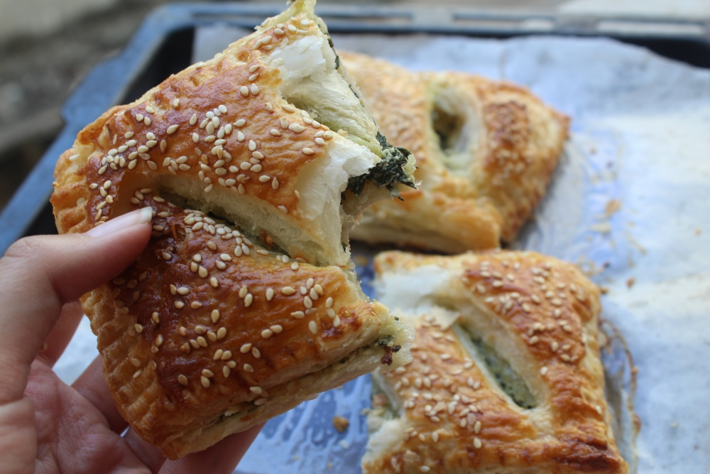 spinach puff 3